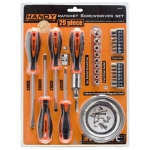 10713<br>29 Pieces Ratchet Screwdriver Set with Magnetic Bowl