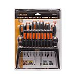 10712<br>18 Pieces Screwdriver Set with Stand