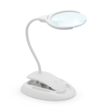 10795<br>Magnifying table LED lamp with touch switch and battery