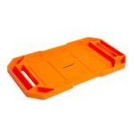 11985C<br>Rubber tool tray - with handle - 26 x 23,5 x 2,5 cm